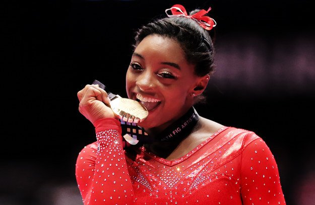 Simone Biles Worth